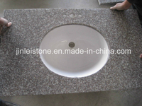 G664 Bainbrook Brown Granite Vanitytop for Bathroom